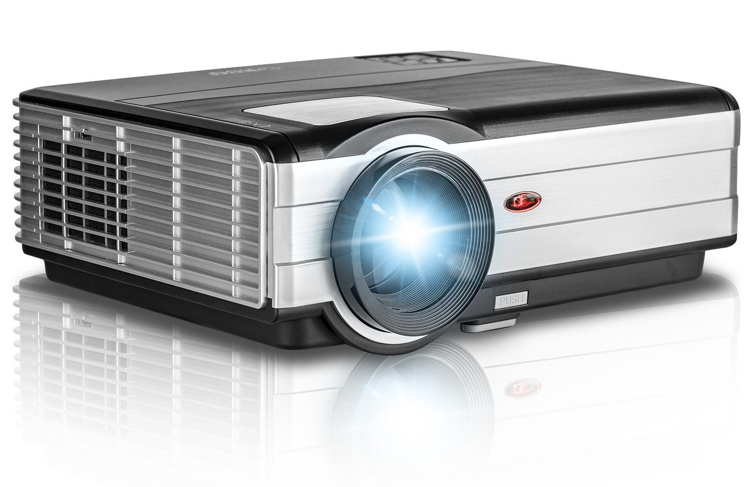 Hd home cinema projector model hd 198 home design for Best small hd projector